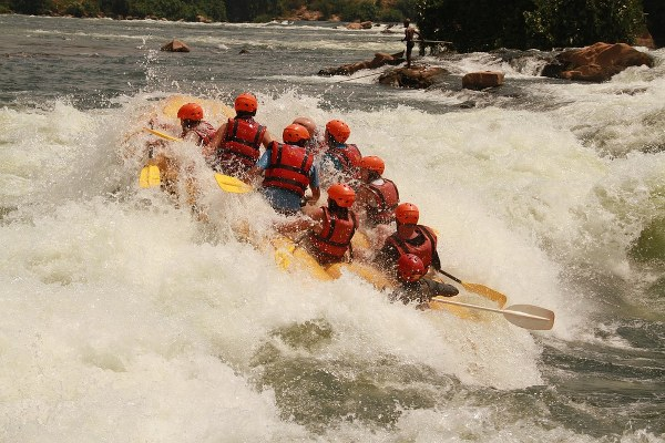 white water rafting in jinja - Kabira Uganda Safaris