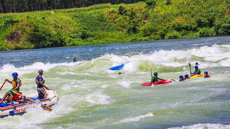 White Water Rafting in Jinja Uganda