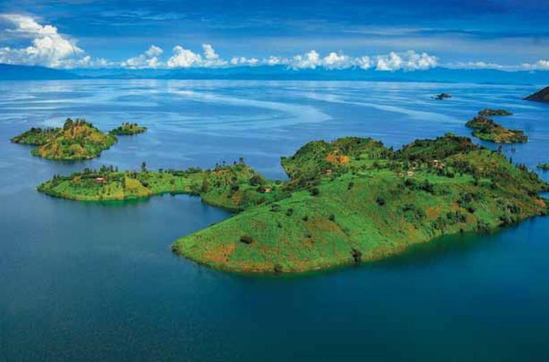 Boat Ride on Lake Kivu Rwanda