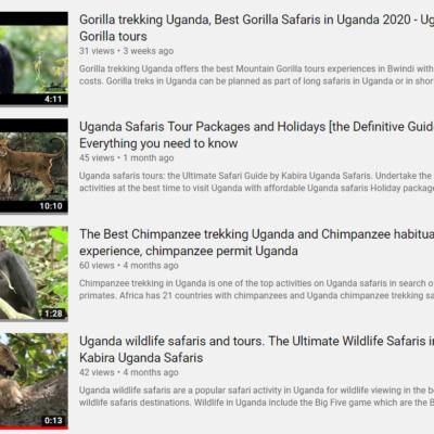 Kabira Safaris and Tours Ltd on Youtube