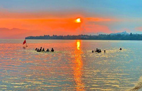 beautiful Lake Kivu in Rwanda