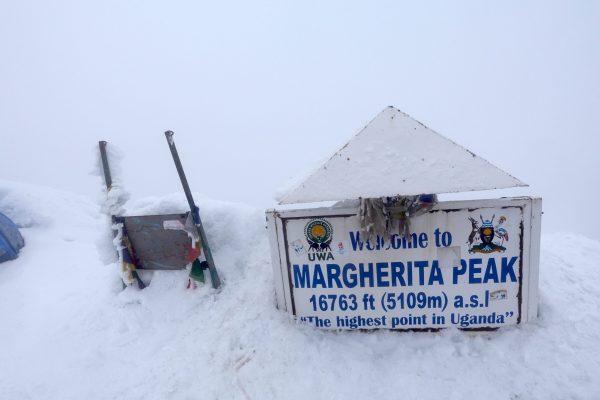 Magherita Peak - Rwenzori-Mountains-Trekking