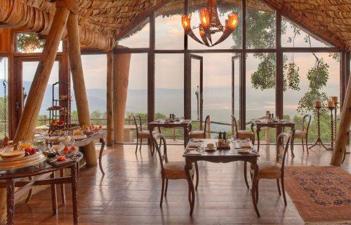 andBeyond Ngorongoro Crater Lodge