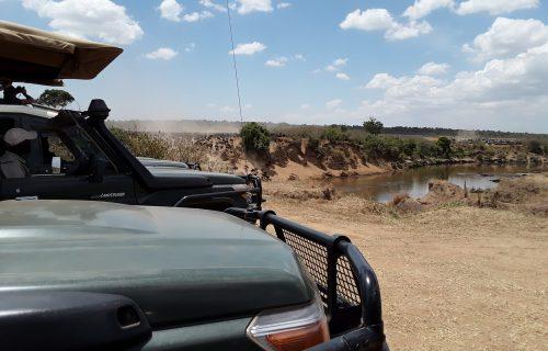 Car rental drives in Tanzania
