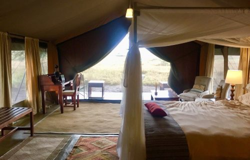 Serengeti Sametu Camp -10 Days Tanzania and Uganda Safari
