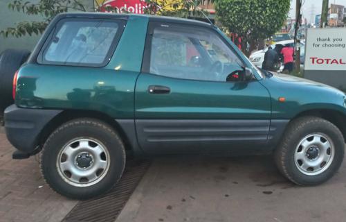 Toyota RAV-4 short Car Hire Uganda