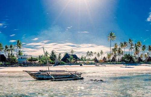 Zanzibar Island (Safari Blue)