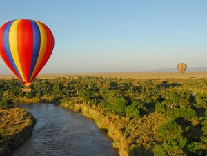 Hot Air Balloon Masai Mara Kenya