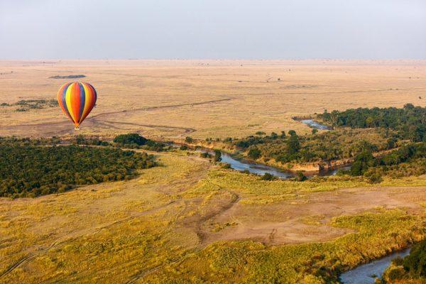 Masai Mara ballooning