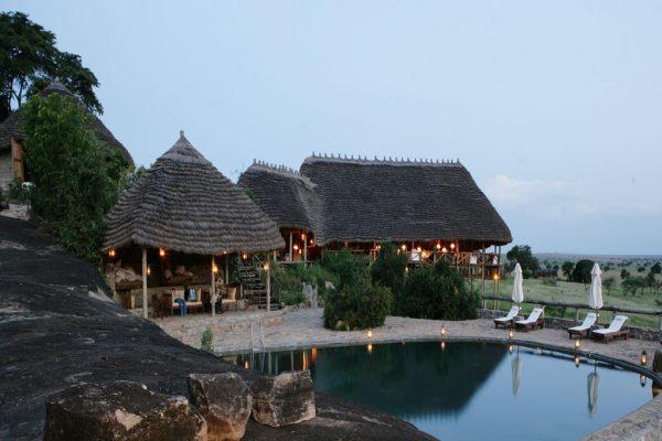 Apoka Safari Lodge in Kidepo National Park