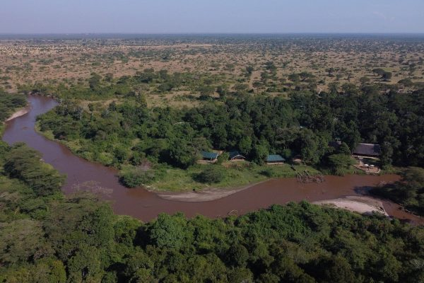 from-above-and-inside - Ishasha Wilderness Tented Camp